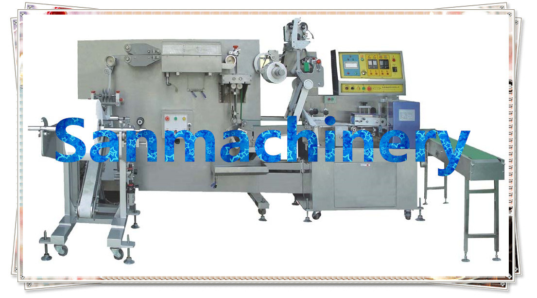Flat Wet Tissue Making Machine (1Sheet/Bag) with Ce (RF-640)