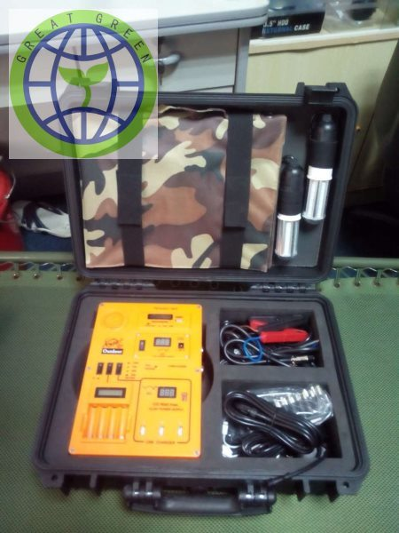 Multi-Function Portable Solar Generator for Outdoor Using