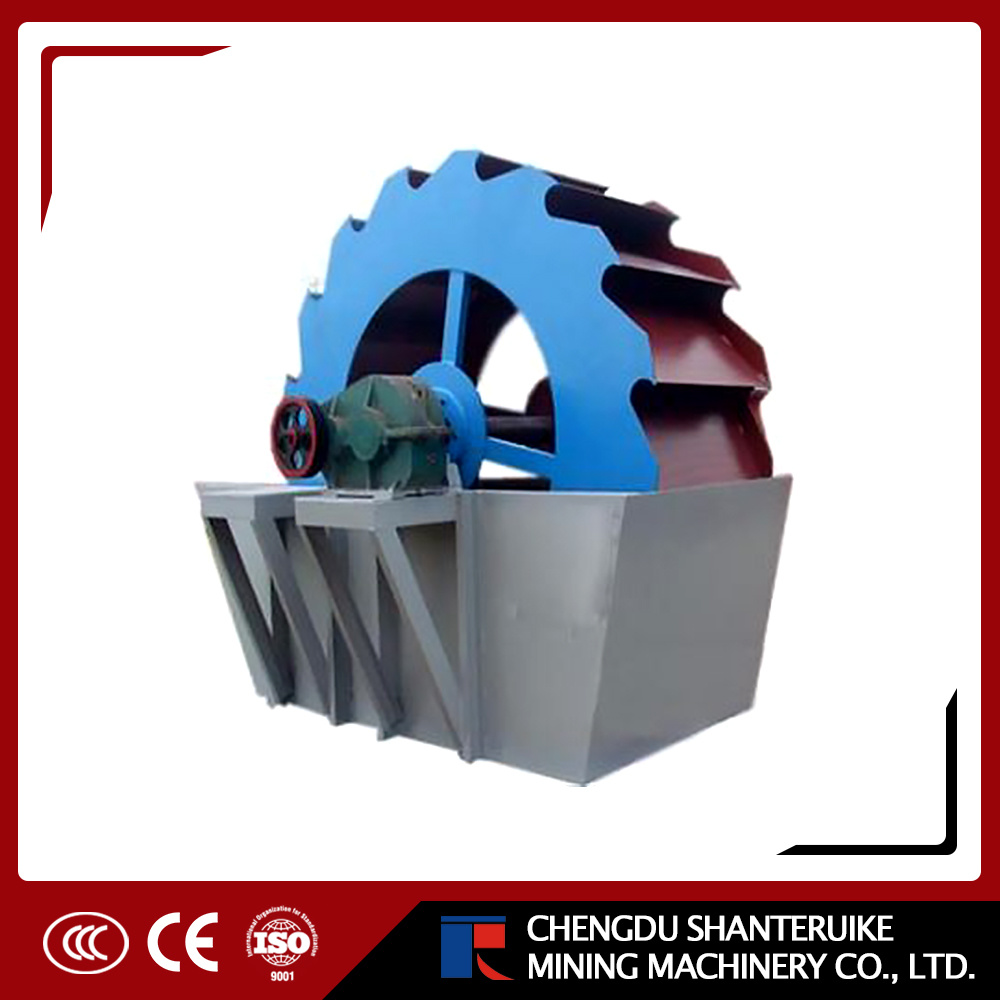 Wheel Spiral Bucket Sand Washing Washer