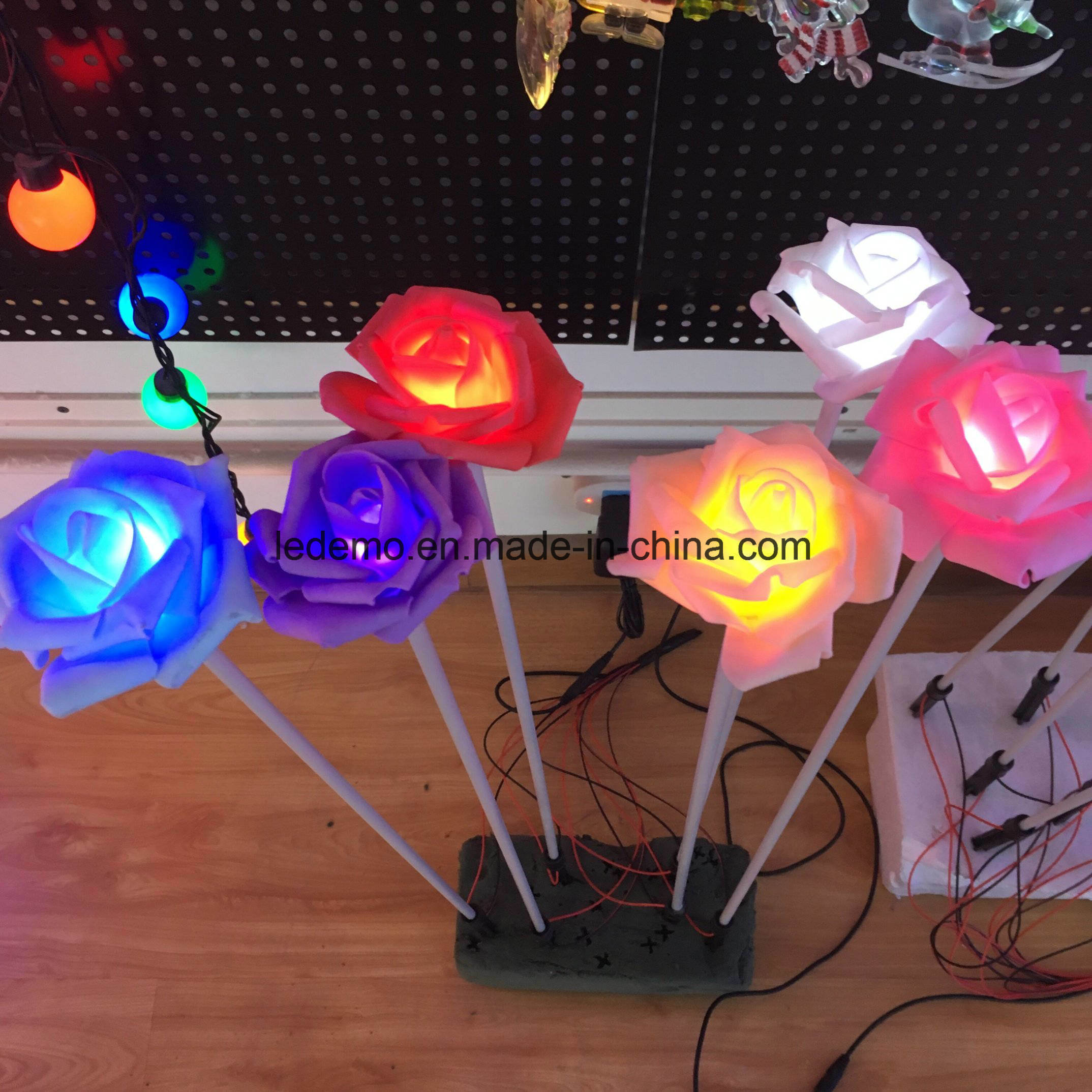 LED Rose Flower Sea Decoration Light