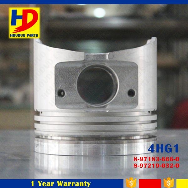 Piston with Pin of 4hg1 Wholesale Excavator Diesel Engine Parts OEM (8-97183-666-0)