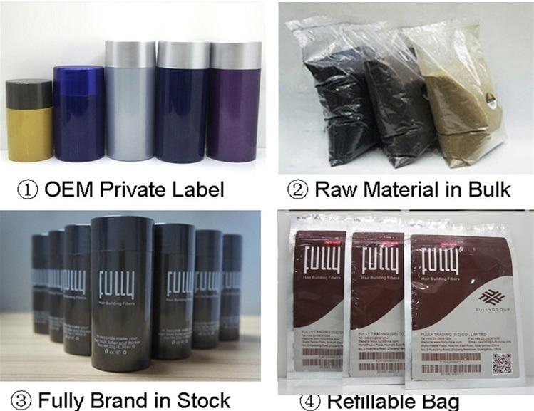 Do Your Own Brand Keratin Hair Building Fibre