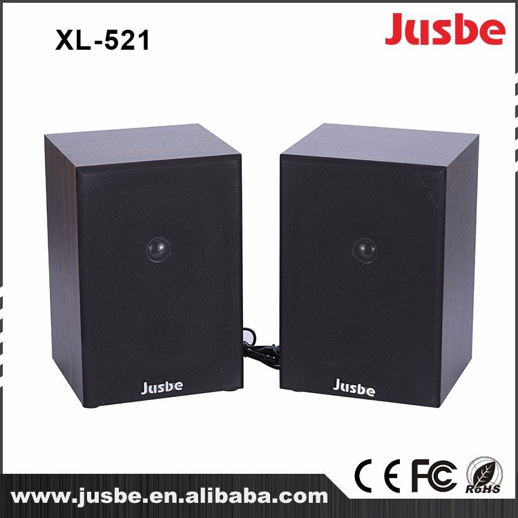 Jusbe XL-521 High Reliability 2.0 Active Bluetooth Speaker/Soundspeaker