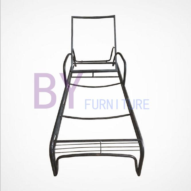 Garden PE Rattan Furniture Lying Bed