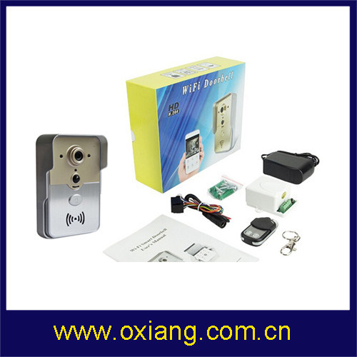 Wireless Video Doorbell Multi Apartments WiFi Video Door Phone