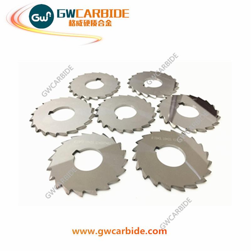 Tungsten Carbide Saw Blade Carbide Slitting Cutters