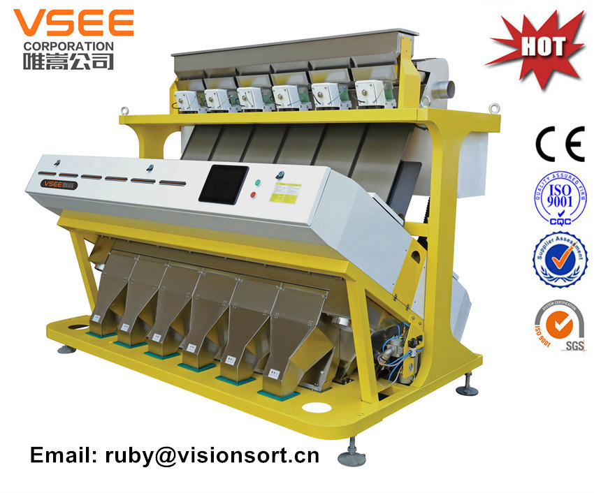 Vsee Color Sorter for Soya Meal with SGS, Ce, ISO Certificate