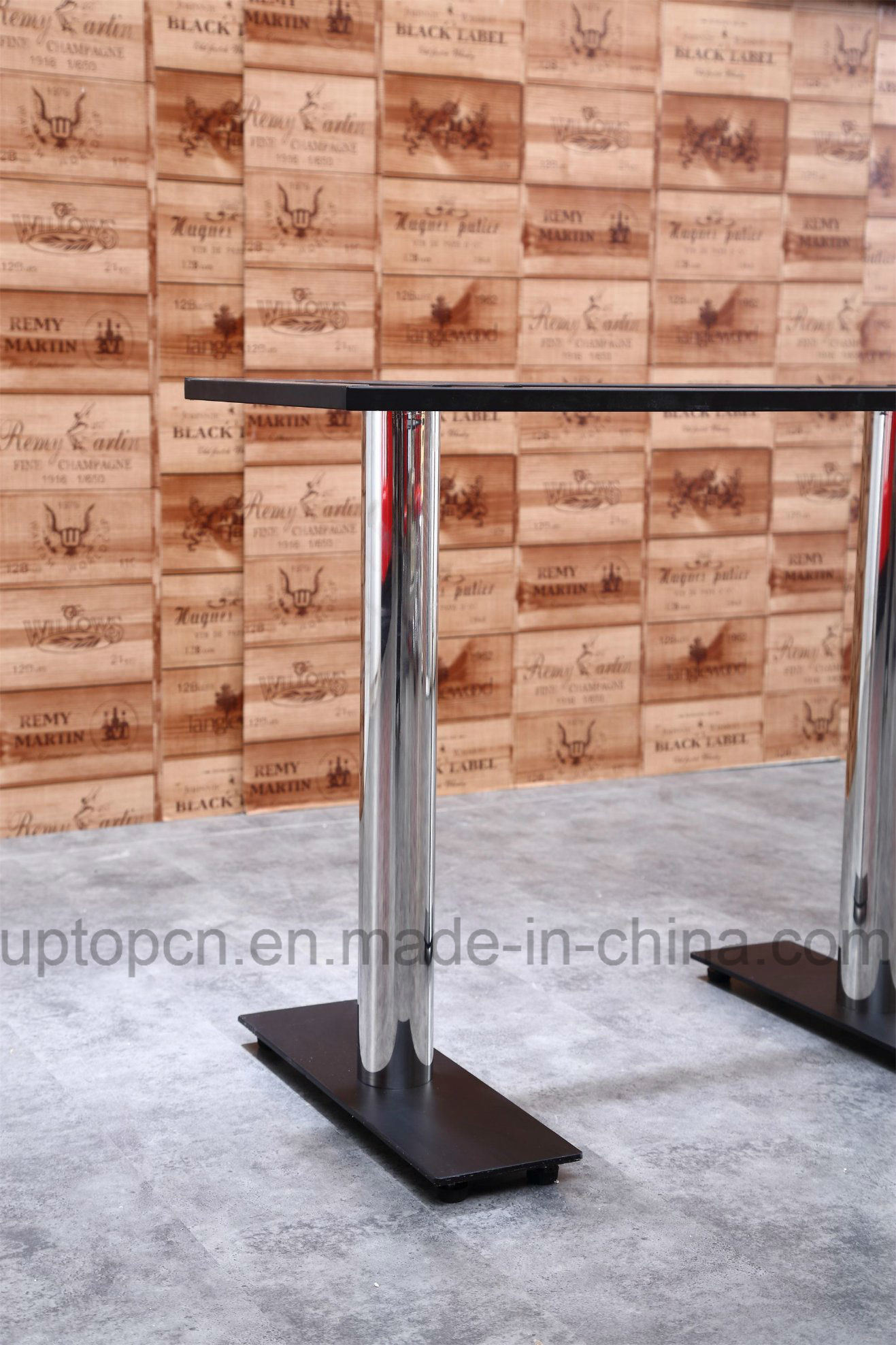Durable Plywood Rectangle Restaurant Table with HPL for Dining Room (SP-RT497)