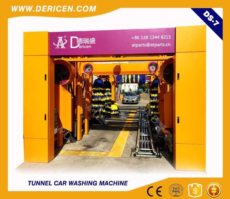 Dericen Ds7 Tunnel Car Wash Machine with Best Quality and The Lowest Price