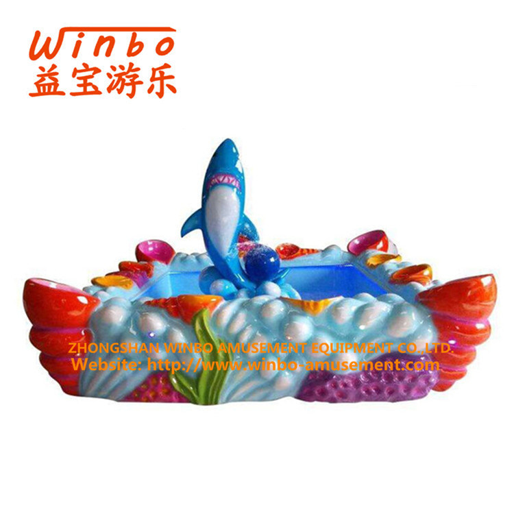 Amusement Equipment Fishing Pool for Children′s Playground (F04-RD)