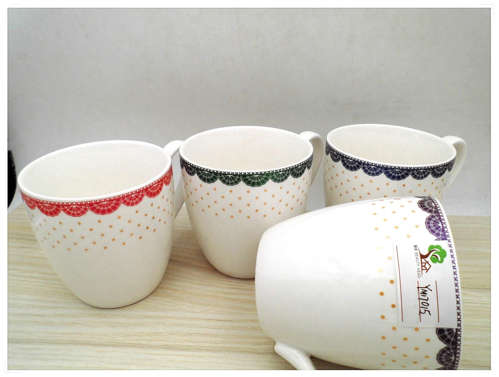 Ceramic Glazed Coffee Mugs
