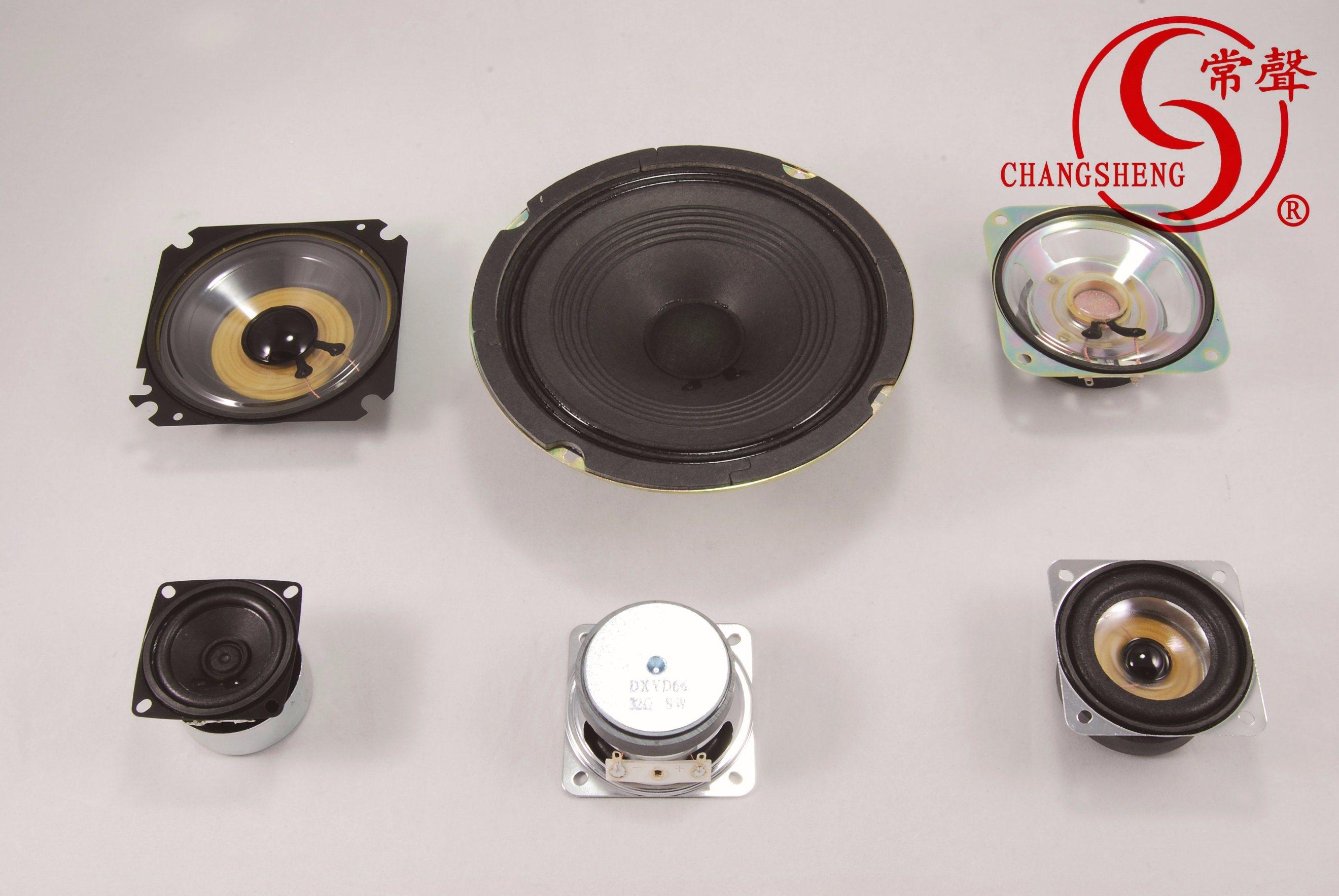 RoHS 36mm 8ohm 0.5W Waterproof Mylar Mini Speaker Dxi36n-B