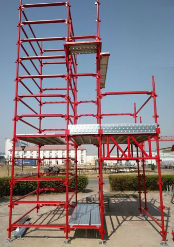 SGS Safe Construction Metal Kwikstage Scaffolding