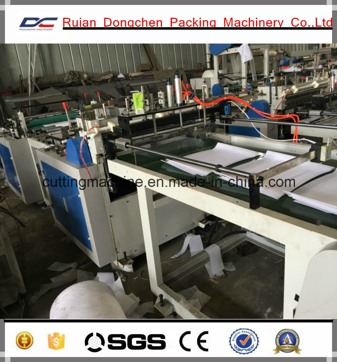 Non Woven Shoe Cabinet Roll to Sheets Cutting Machine with Embossing