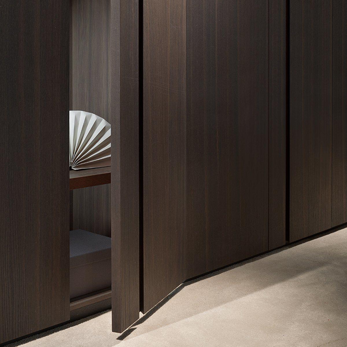 Wood Grain Melamine Laminate Wardrobe Bedroom Furniture Popular