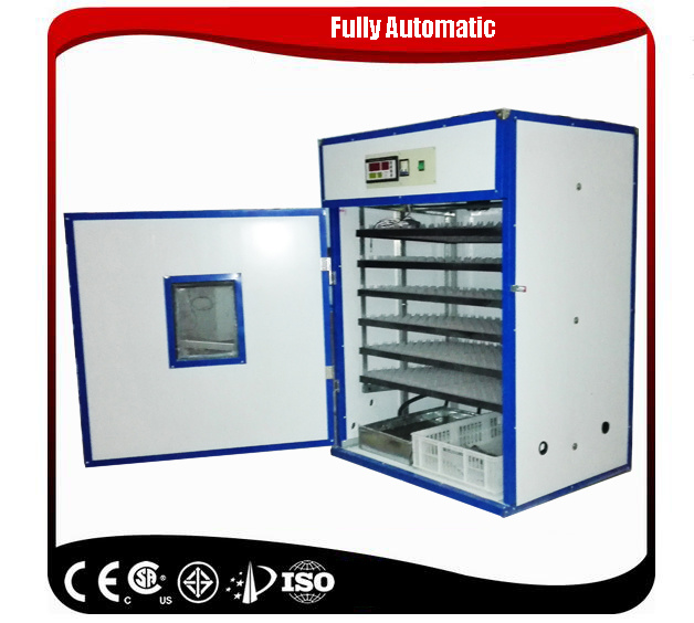 Full Automatic Digital Zambia Egg Incubator Price for 1056 Eggs