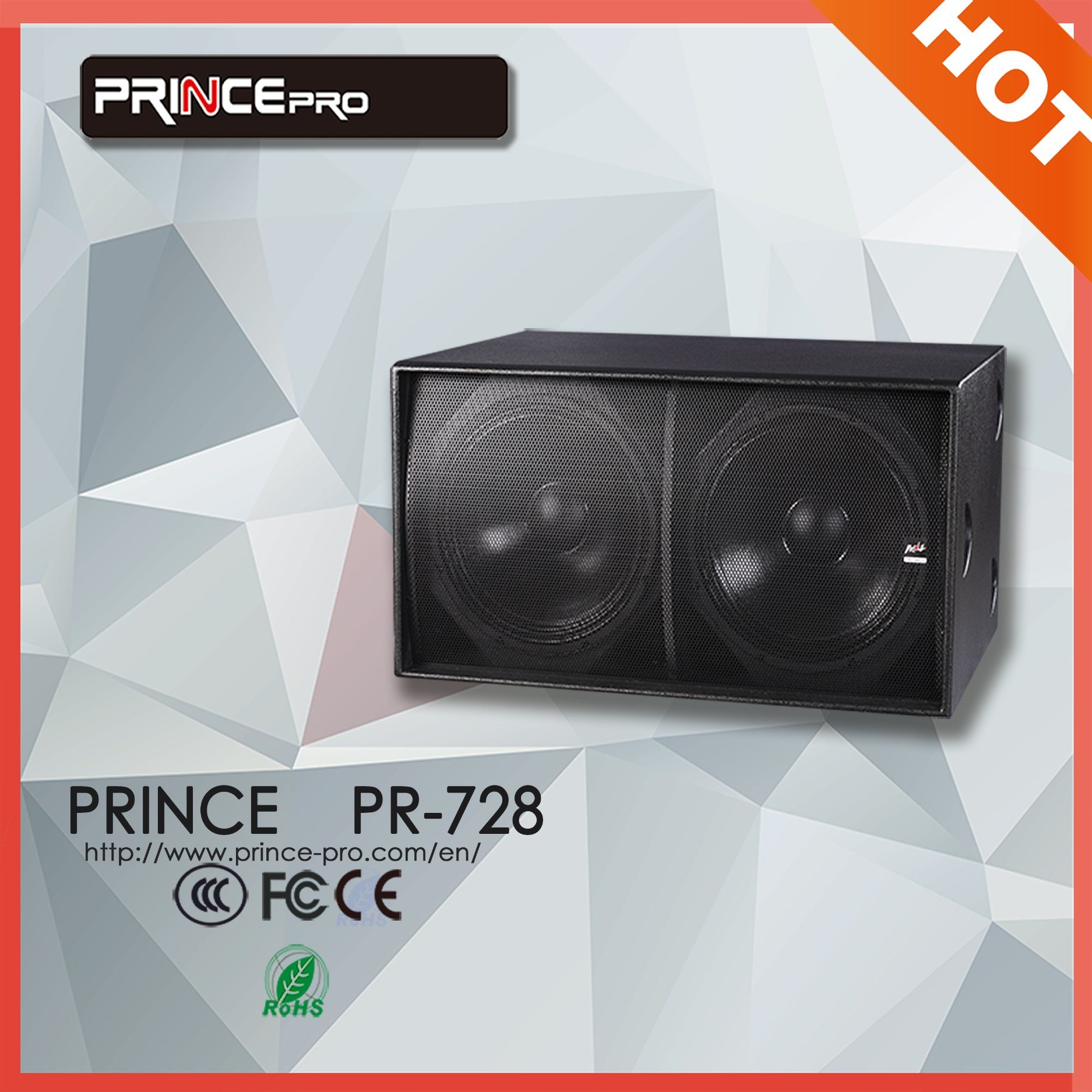 18inch High Power Ultra Compact Subwoofer