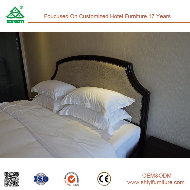 Free CAD and 3D Design Ebony Hotel Bedroom Furniture