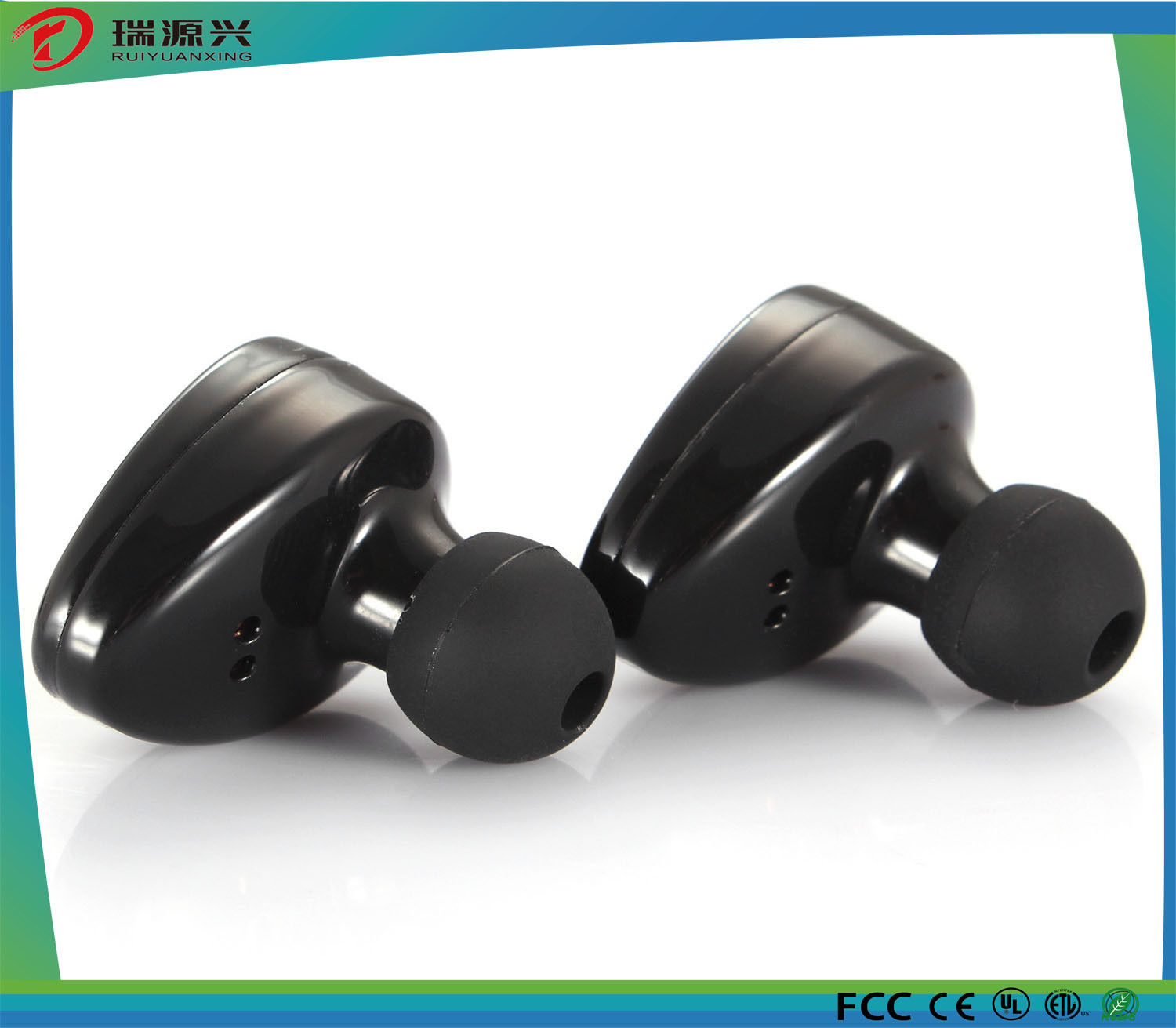 TWS K2 Mini Stereo Bluetooth Earbud Earphone Wireless Headset Headphone