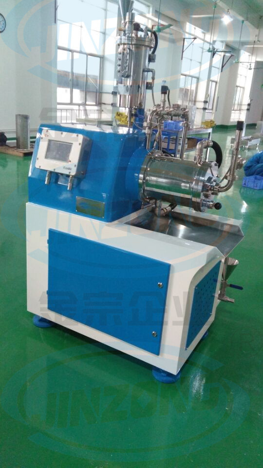 Nano Grinding Mill / Thermal Paper Horizontal Bead Mill with Ce ISO SGS