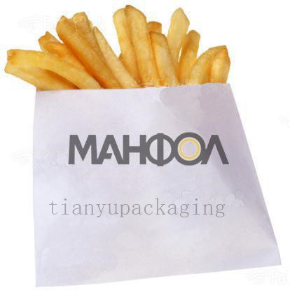 Bags Made From Bio-Degradable Paper and Printed with Food-Safe Inks