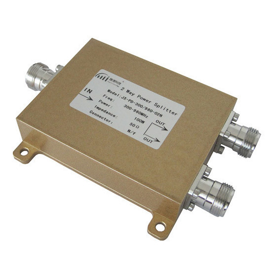 CDMA/GSM/FM/UHF Microwave Communication 300-960MHz 2 Way Power Divider (Power Splitter)