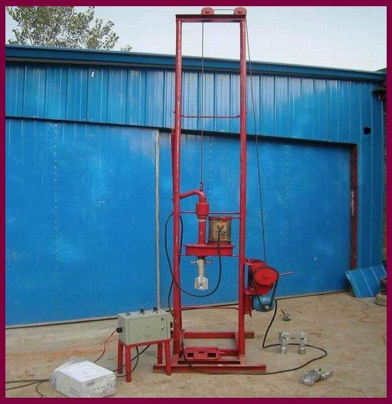 portable water well drilling machine