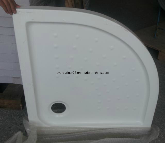 Semi-Arc Acrylic Shower Tray, Acrylic Shower Plate, Acrylic Shower Basin