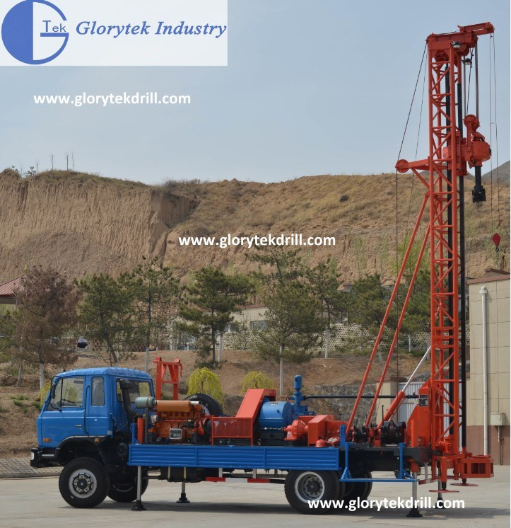 Water Well Drilling Rig for Sale (GLIII, GL-IIA, S300, S600)