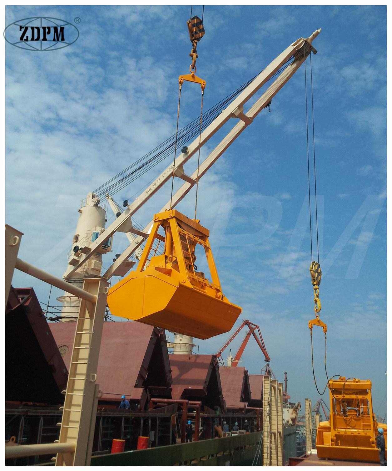 25t Remote Control Grab for Bulk Cargo Ship