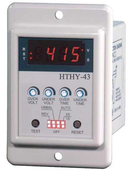 Electronic Motor Voltage Protection Relay (HTHY-43)