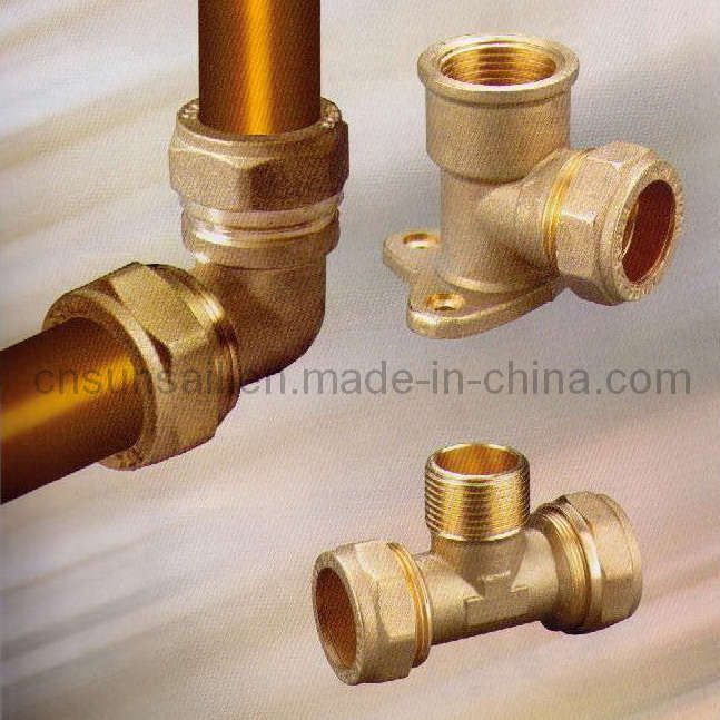 China compression fittings for copper pipe hjfc