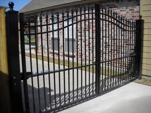 China simple iron gate gates models