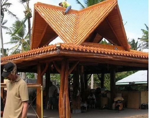 Telhas de telhado para o pavilhão do jardim gl001