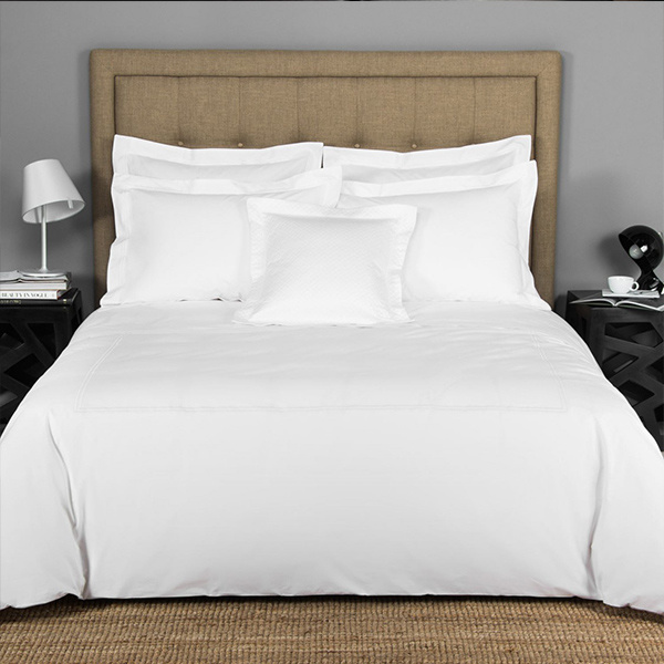 "White Cotton T-200 Twin Size Hotel Linen Pillow Cases 20""X30"""