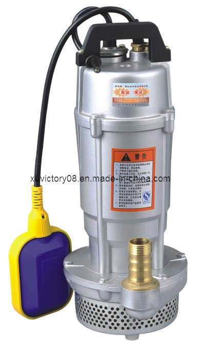 Houehold Used Aluminium Body Qdx Submersible Water Pump (QDX1.5-32-0.75)