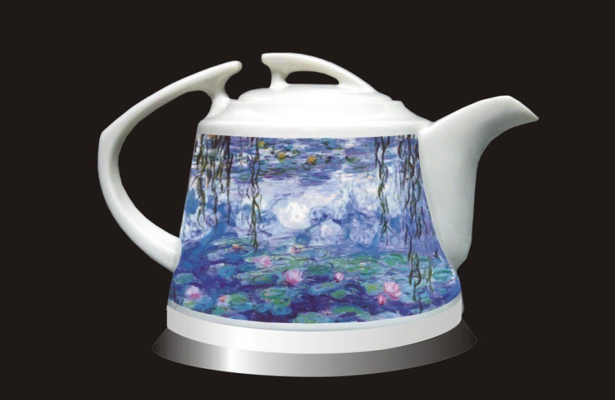Porcelain Electric Kettle ~ China ceramic electric kettle