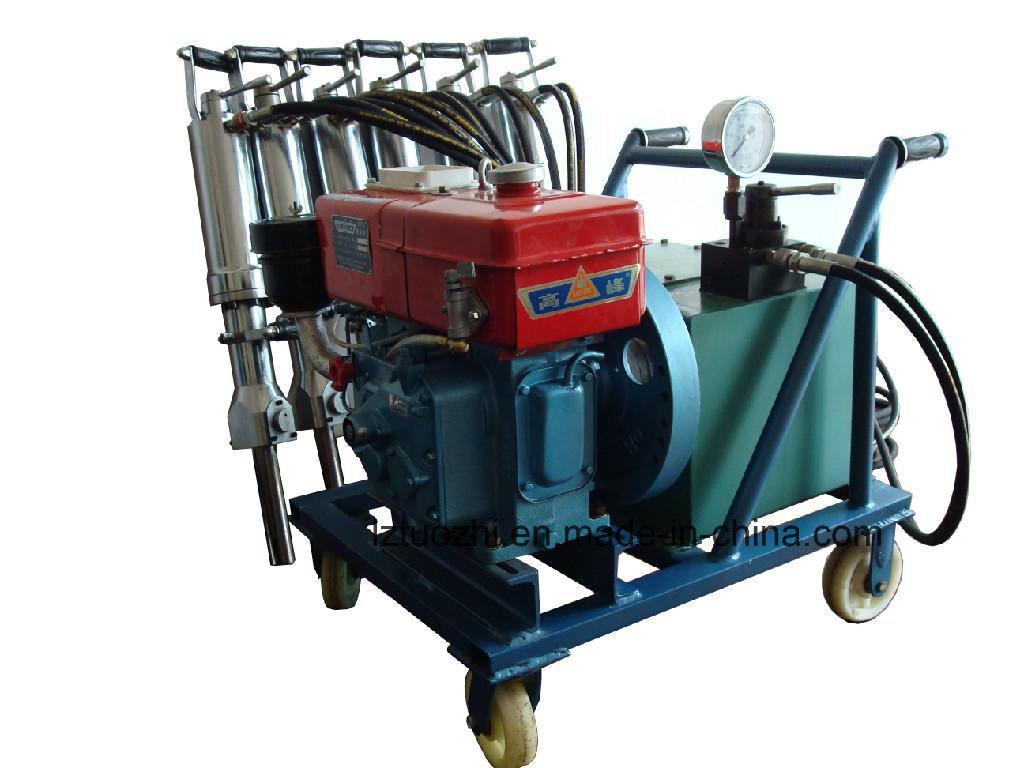 Diesel Driven Hydraulic Rock Splitter