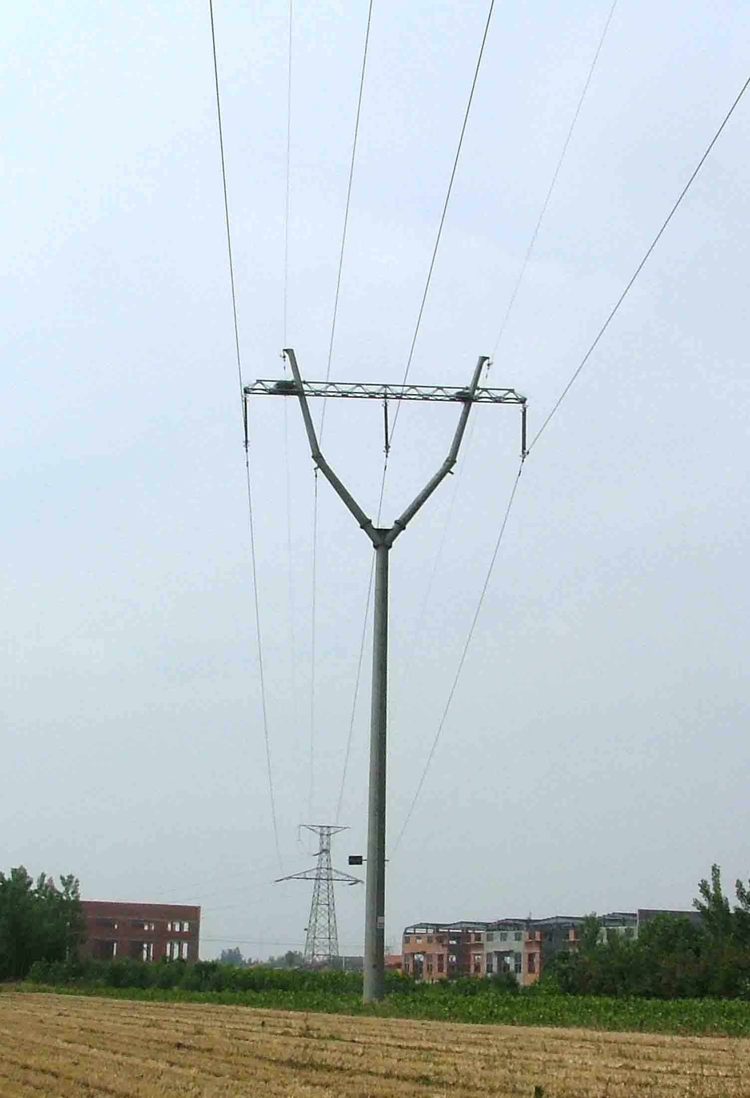 220kv Steel Pole, Transmission Pole