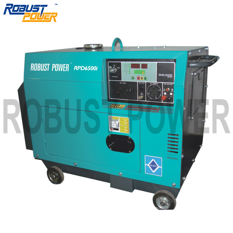 Silent Diesel Genenratorr RP6500I