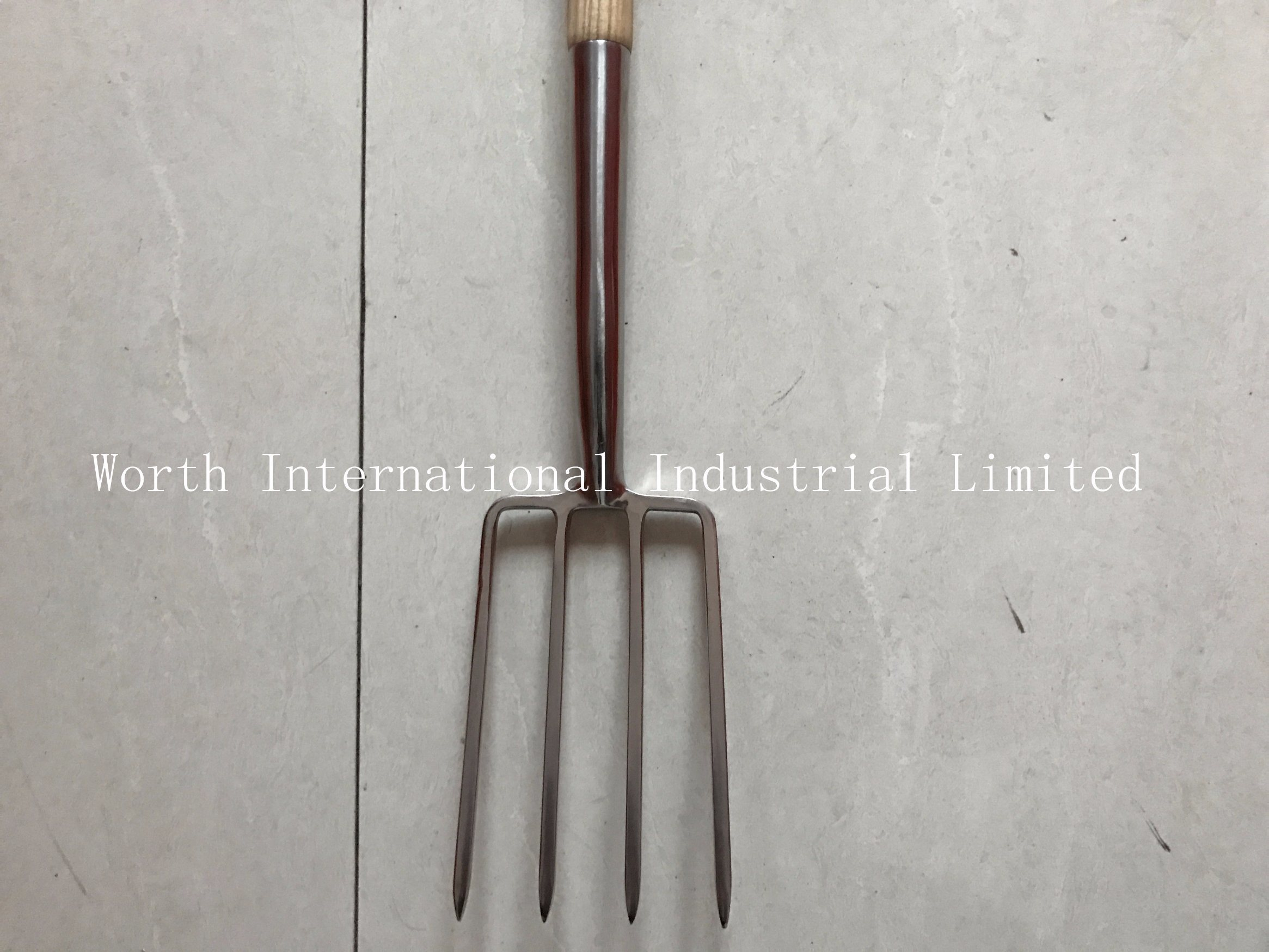 Small Fork Head with T Wood Handle