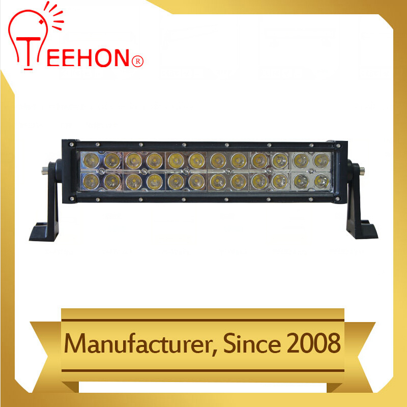 Double Row 72W LED Driving Offroad LED Light Bar