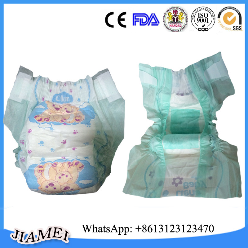 100% Cotton Super Absorbent Disposable Baby Diapers on Sale