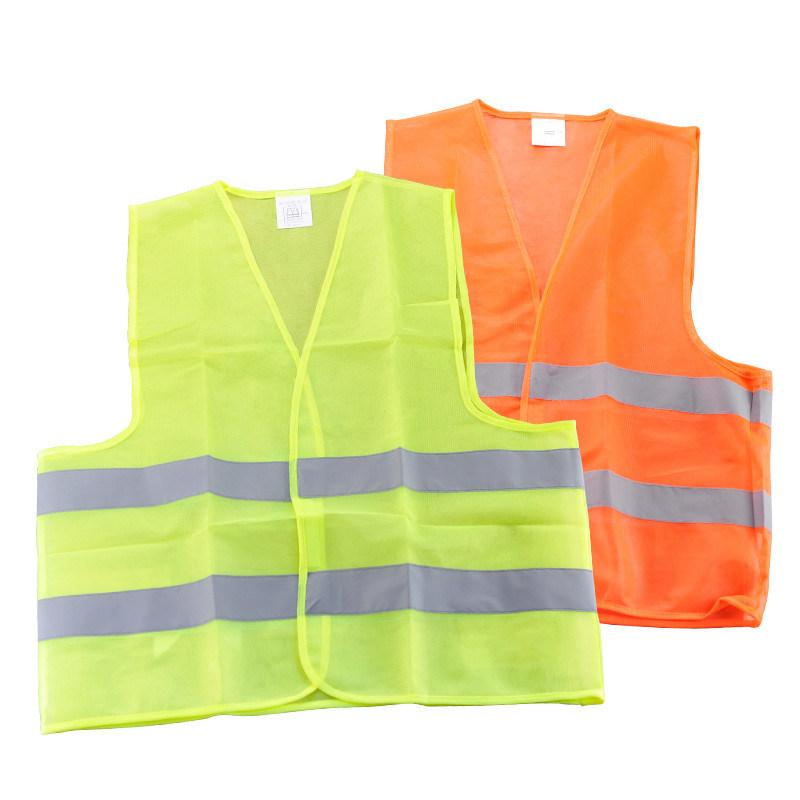 Reflective Safety Vests En ISO 20471 Approved