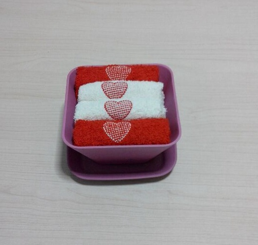 (BC-G1004) Promotional Gift Terry Towel with Storage Box