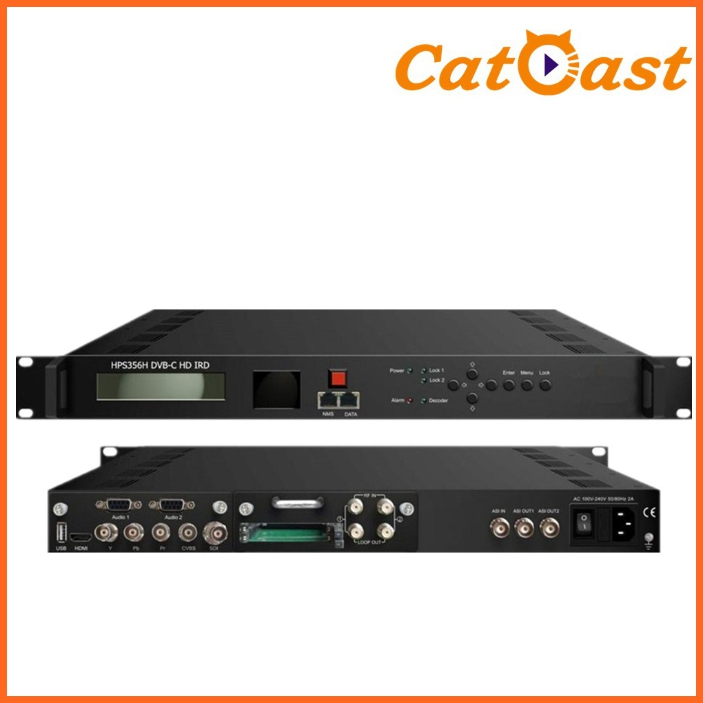 DVB-C HD IRD Demodulation with RF Output