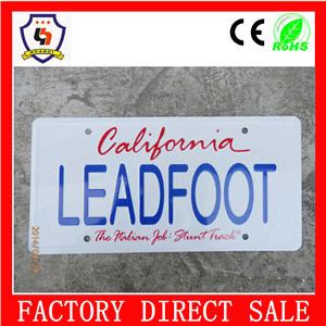 2016 Hot Sale Car License Plate Frame
