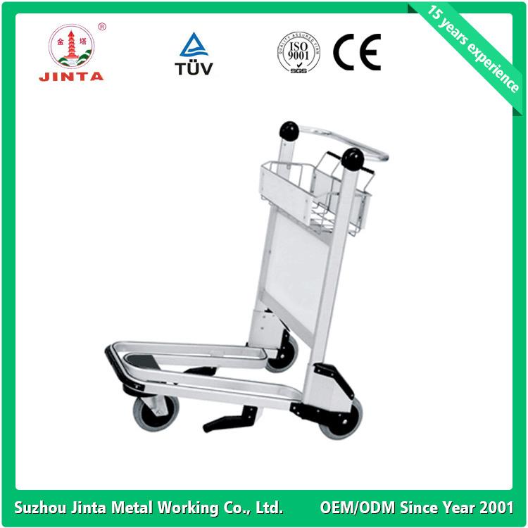 3 Wheels Auto Brake Airport Baggage Trolley