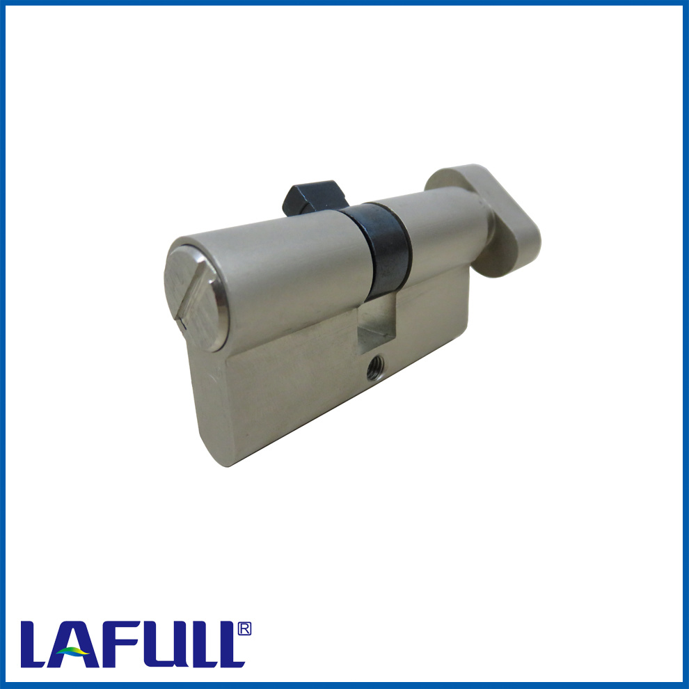 70mm Euro Type Bathroom Lock with Knob Brass Cylinder