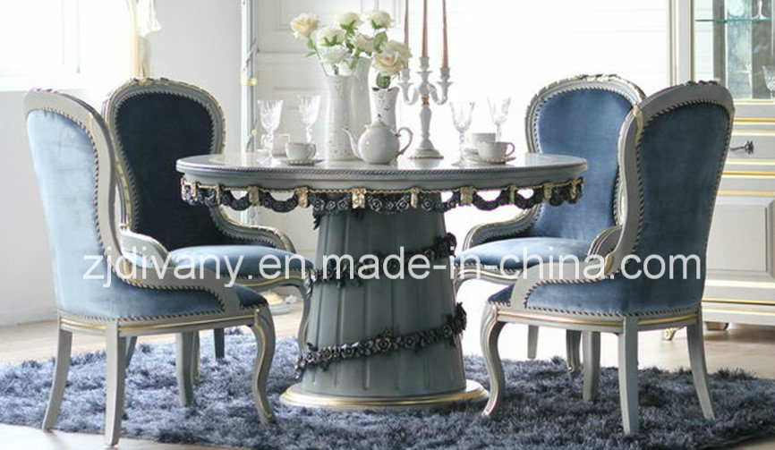 China French Style Dining Room Furniture Wooden Dining Table (1204)   China  Dining Table, Classical Furniture